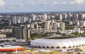 Widok na Manaus