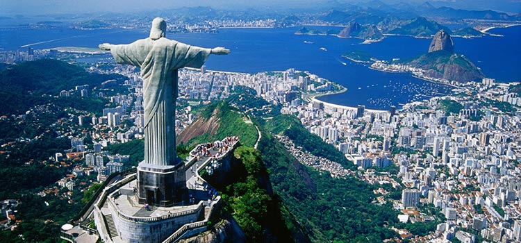 Statua Chrystusa Zbawiciela w Rio